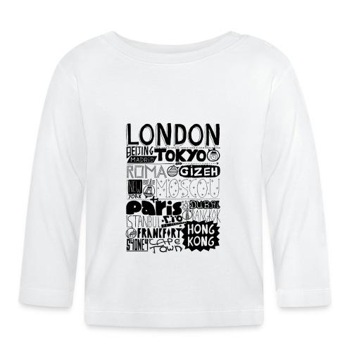 Villes du monde - T-shirt manches longues Bébé