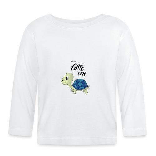 Little Turtle - Baby Langarmshirt