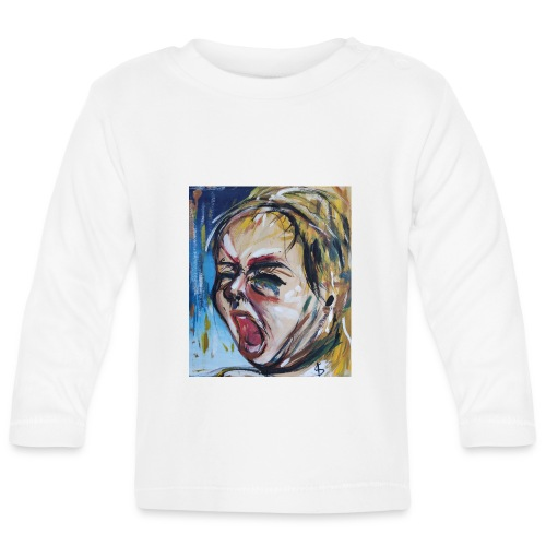 Bimbo che piange - Maglietta a manica lunga per bambini
