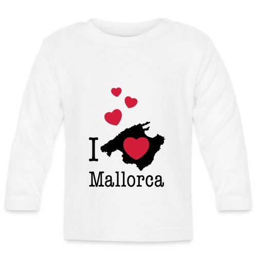 love Mallorca Balearen Spanien Ferieninsel Urlaub - Baby Long Sleeve T-Shirt
