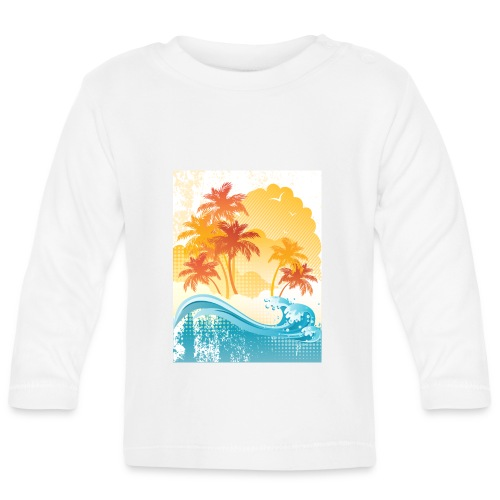 Palm Beach - Baby Long Sleeve T-Shirt