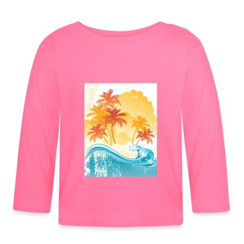 Palm Beach - Baby Long Sleeve T-Shirt