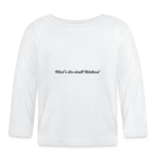 Velotime motto - Långärmad T-shirt baby