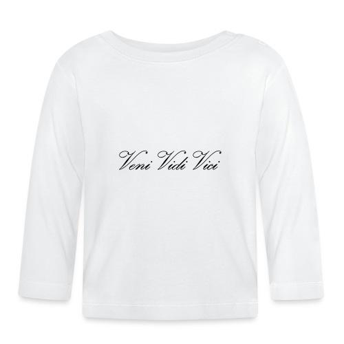 Veni Vidi Vici - Vauvan pitkähihainen paita