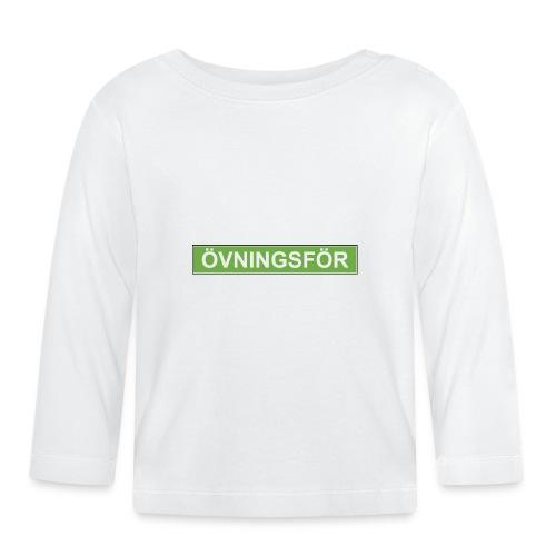 ÖVNINGSFÖR - Långärmad T-shirt baby