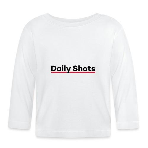 Daily Shots - Baby Langarmshirt