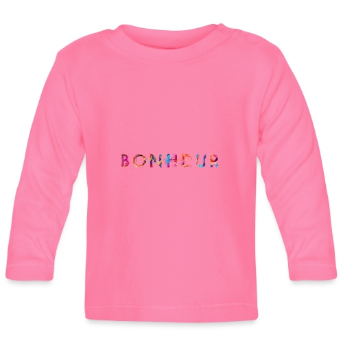 Bonheur - T-shirt manches longues Bébé