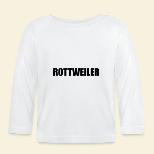 RottiMütze - Baby Langarmshirt