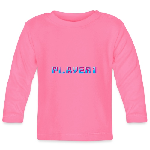Arcade Game - Player 1 - Baby Long Sleeve T-Shirt