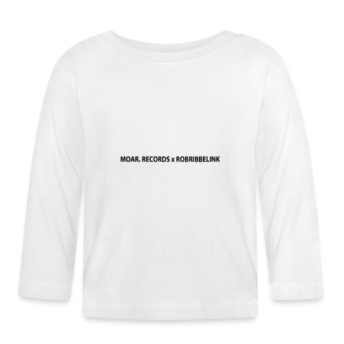 MOAR. Records x RobRibbelink phone case - Baby Long Sleeve T-Shirt