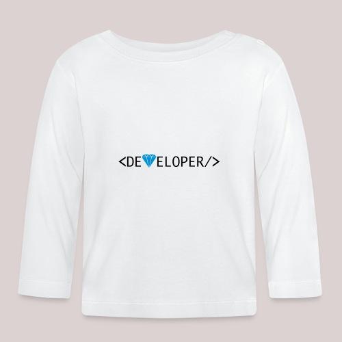 Developer | Computer | Nerd | Hipster | Geek - Baby Langarmshirt