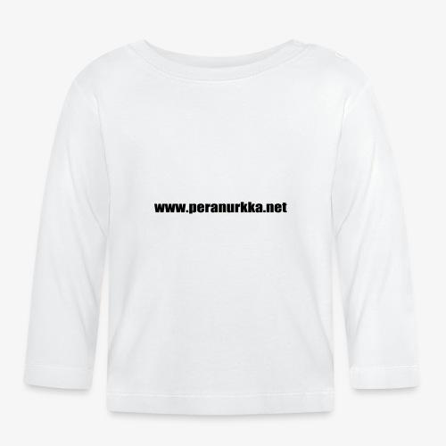 peranurkka - Långärmad T-shirt baby