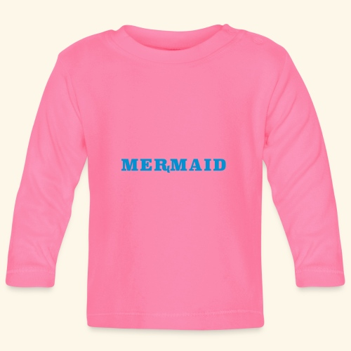 Mermaid logo - Långärmad T-shirt baby