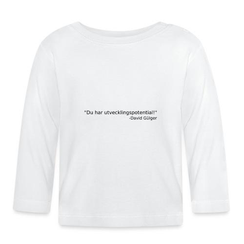 Ju jutsu kai förslag 1 version 1 svart text - Långärmad T-shirt baby
