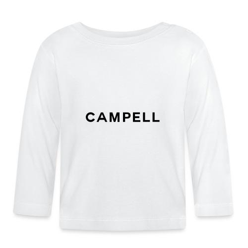 campell schriftzug2 - Baby Langarmshirt