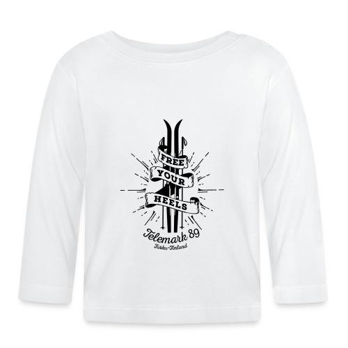 FreeYourHeels_merge - Vauvan pitkähihainen paita