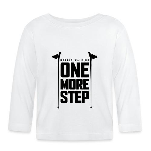 Nordic Walking - One more step - Vauvan pitkähihainen paita