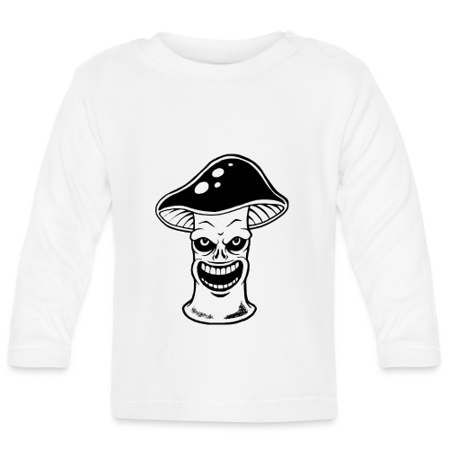 Happy Pilz - Baby Langarmshirt