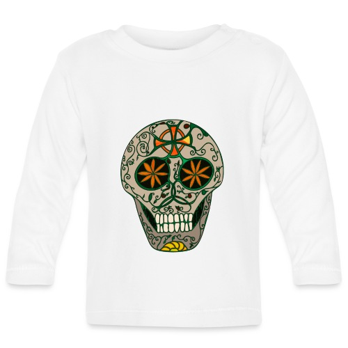 Growing Skull - Baby Long Sleeve T-Shirt