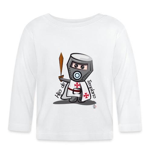 Hijo de templario (Casco) - Camiseta manga larga bebé