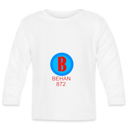 Rep that Behan 872 logo guys peace - Baby Long Sleeve T-Shirt