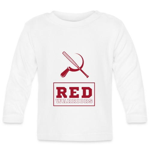 Red Warriors Logo2 - T-shirt manches longues Bébé