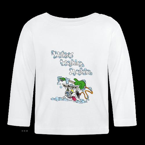 Wicked Washing Machine Cartoon and Logo - T-shirt