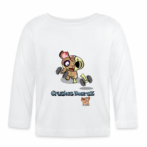 Zombie entrenando - Camiseta manga larga bebé