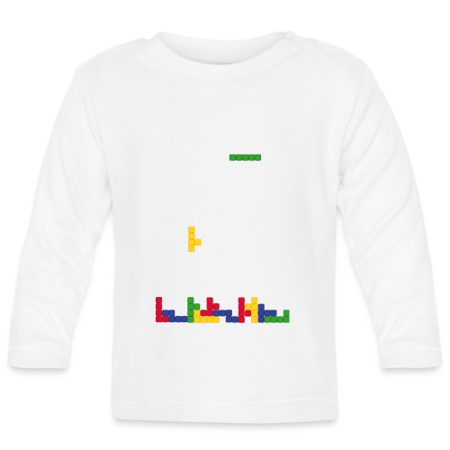 Tetris - T-shirt manches longues Bébé