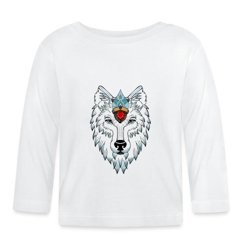 female wolf newschool - T-shirt manches longues Bébé