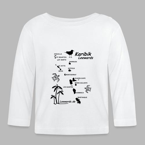 Karibik Leewards Segeln Leward Islands - Baby Langarmshirt
