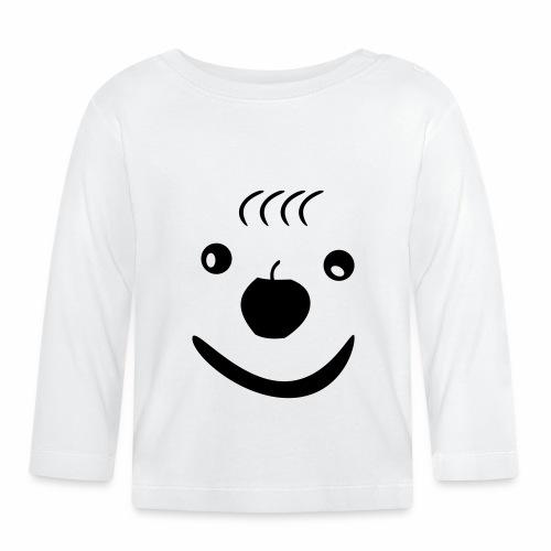 Gesicht - Baby Langarmshirt