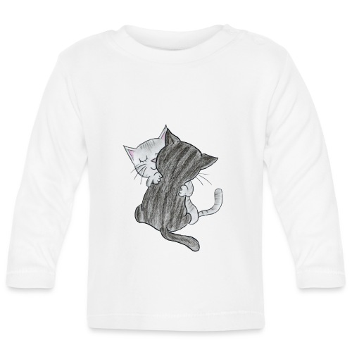 Katzen - Baby Langarmshirt