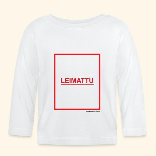 LEIMATTU - Vauvan pitkähihainen paita