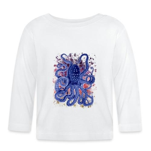 Oktopus.png - Baby Langarmshirt
