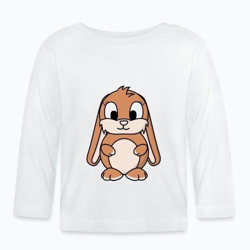 Lily Bunny - Appelsin - Långärmad T-shirt baby