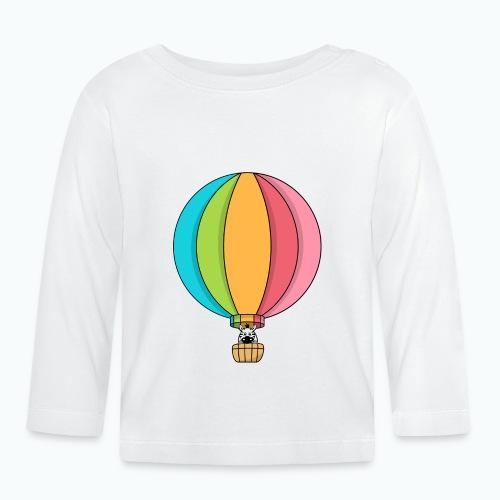 Zebra Zach Air Balloon - Långärmad T-shirt baby