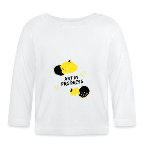 Art in Progress - Maglietta a manica lunga per bambini