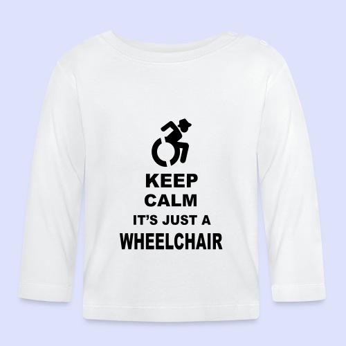 Rustig blijven, het is gewoon een rolstoel 003 - T-shirt