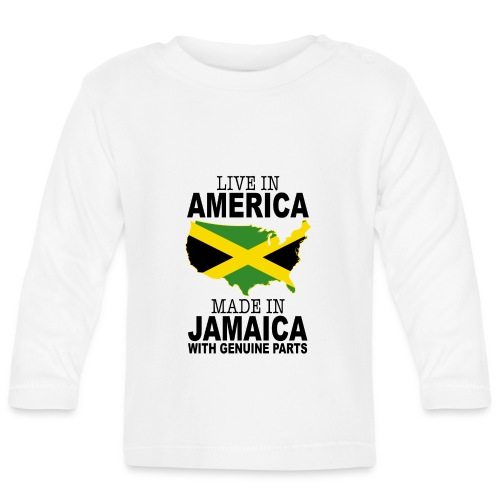 Live In America Made In Jamaica - Baby Long Sleeve T-Shirt