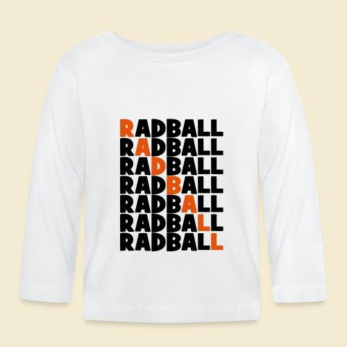 Radball   Diagonal - Baby Langarmshirt