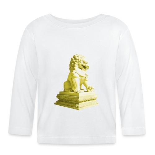 Fu Hund Tempelwächter Wächterlöwe Buddha China - Baby Langarmshirt