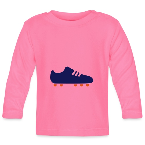 footBALL boot - Baby Long Sleeve T-Shirt
