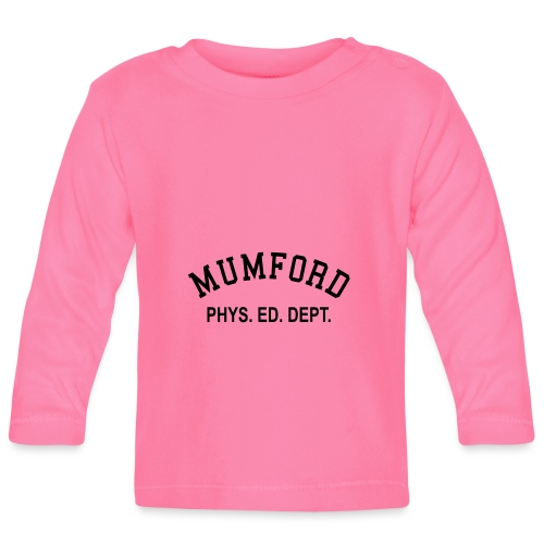 mumford phys ed - Baby Long Sleeve T-Shirt