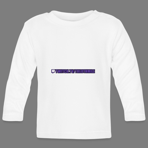 twitch.tv/the8thmile - Baby Long Sleeve T-Shirt
