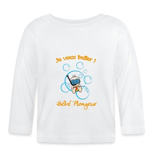 bb veut buller - T-shirt manches longues Bébé
