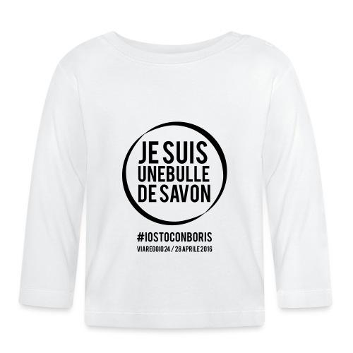 #iostoconboris - Maglietta a manica lunga per bambini