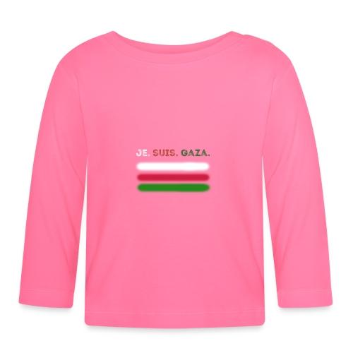 Je Suis Gaza - Langærmet babyshirt