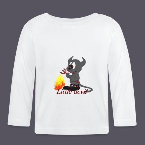 lustiges Teufelchen Little devil - Baby Langarmshirt