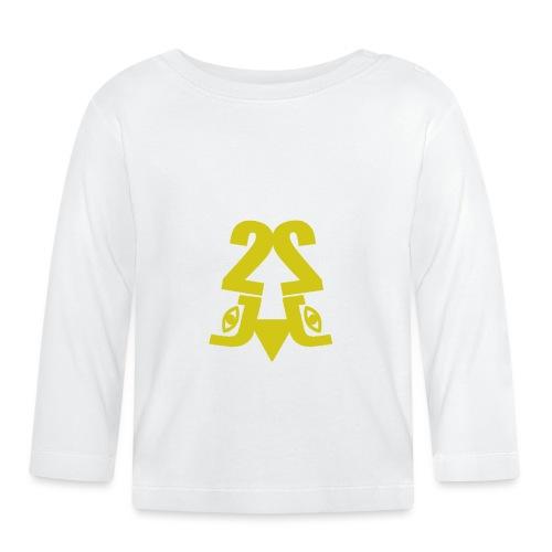 2J_GOLD - Langærmet babyshirt